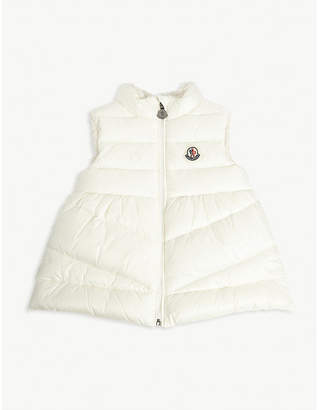 Moncler Shearling lined gilet 3-36 months