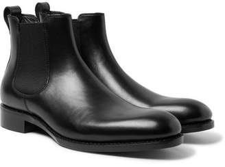 Walter SALLE PRIVÃE Leather Chelsea Boots
