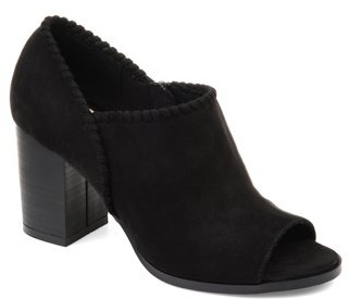 Brinley Co. Womens Open-toe Ankle Bootie