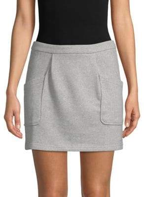 J.o.a. French Terry Mini Skirt