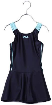 Fila (フィラ) - フィラ FILA ジュニア 水泳 スクール水着 タンクトップビキニ キュロットパンツタイプ 124685【返品不可商品】