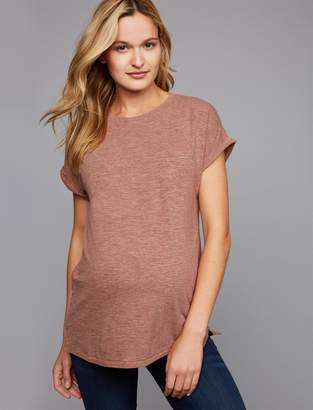 A Pea in the Pod Boyfriend Fit Nep Maternity T Shirt