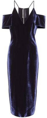 Roland Mouret Exclusive to mytheresa.com Goldney velvet dress