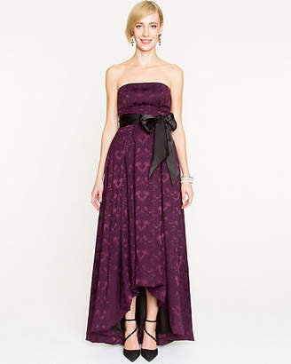 Le Château Jacquard High-Low Gown