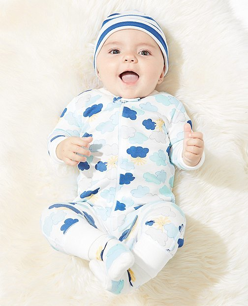Night Night Baby Sleepers In Pure Organic Cotton