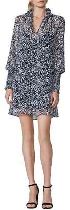 Bailey 44 Lay The Odds Cheetah Print Chiffon Dress
