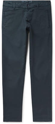Aspesi Slim-Fit Tapered Stretch-Cotton Twill Chinos