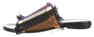 Proenza Schouler Woven Slide Sandals