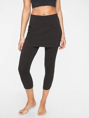 Athleta Organic Cotton Meditation 2 in 1 Capri