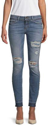 Dolce & Gabbana Distressed Skinny Pant