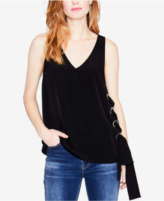 Rachel Roy Sleeveless Lace-Up Top, Created for Macy's