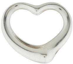 Tiffany & Co. Large Elsa Peretti Open Heart Pendant $175 thestylecure.com