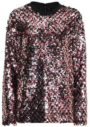 McQ Sequinned top