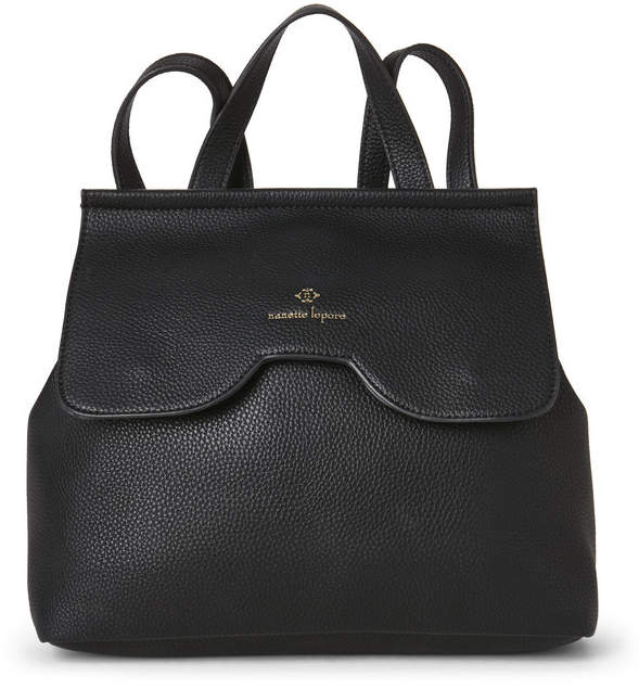nanette lepore Black Arabella Convertible Backpack