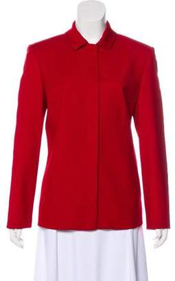 Halston Wool Collared Jacket