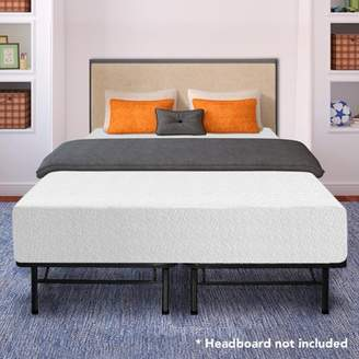 Best Price Mattress 12 Inch Memory Foam Mattress and New Innovated Platform Metal Bed Frame Set, Multiple Sizes