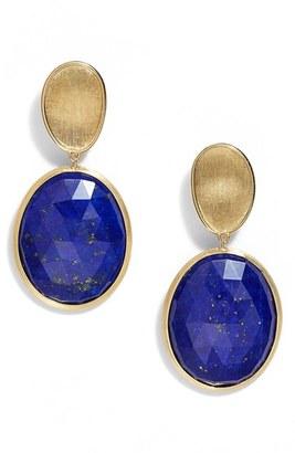 Women's Marco Bicego Lunaria Semiprecious Stone Drop Earrings $1,620 thestylecure.com