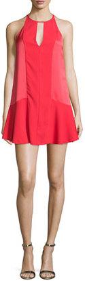 Parker Ronan Sleeveless Mini Dress, Spice $255 thestylecure.com