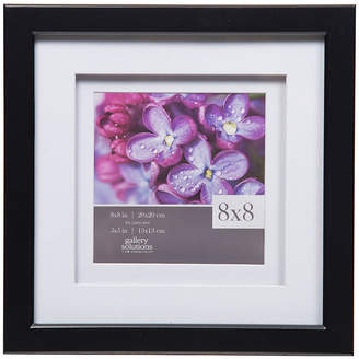 Asstd National Brand 8X8 Black W/ White Double Mat To 5X5 Frame