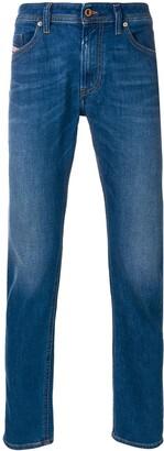 Diesel stonewashed slim stretch jeans