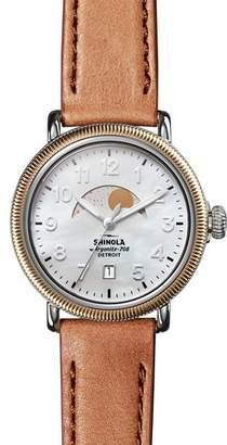 Shinola Runwell Moon Phase Watch, 38mm