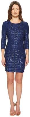 Pierre Balmain Blues Beaded Dress Women's Dress