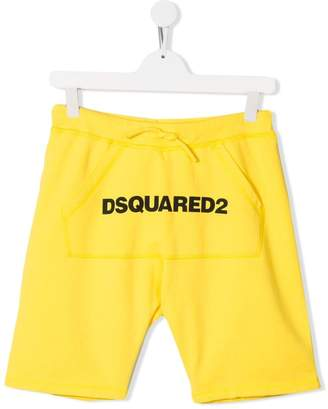DSQUARED2 logo shorts