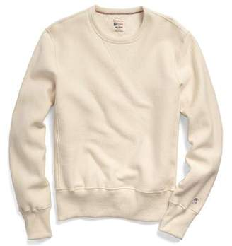 Todd Snyder + Champion Reverse Weave Sweatshirt in Natural