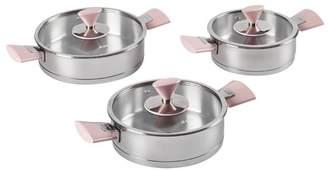 Pink Piramit Sahan Cookware Set