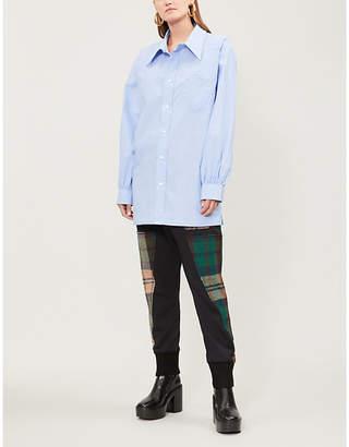 Vivienne Westwood Oversized cotton-poplin shirt