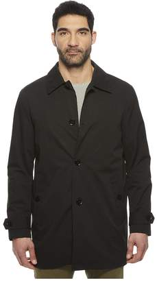 Cole Haan Stand Collar Rain Jacket with Back Hem Vent Men's Coat