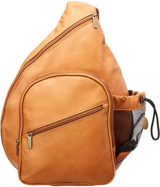 David King & Co. Men's Leather Backpack Style Crossbody
