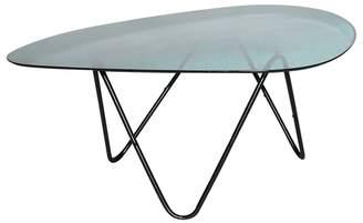 Debenhams Ombre Glass Elliptical Coffee Table