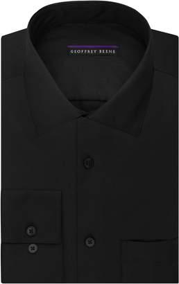91e4de6a8c Geoffrey Beene Men s Sateen Regular Fit Solid Spread Collar Dress Shirt
