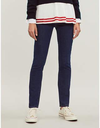 Claudie Pierlot Patricia slim-fit high-rise jeans