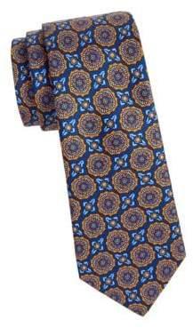 Saks Fifth Avenue Geometric Silk Tie