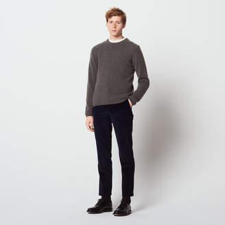 Sandro Slim-fit velvet jeans