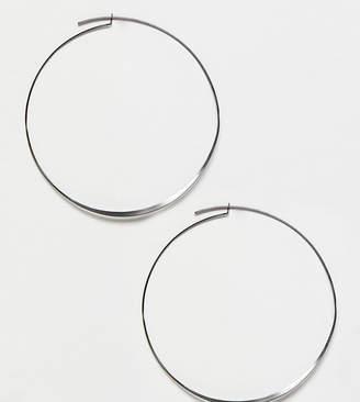 Pilgrim silver plated hoop earrings