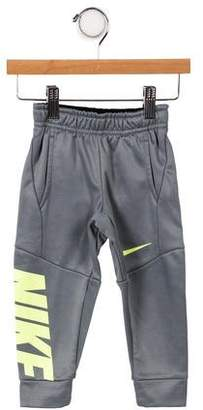 Nike Boys' Printed Elasticized Sweatpants