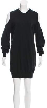 Givenchy Cold-Shoulder Mini Dress