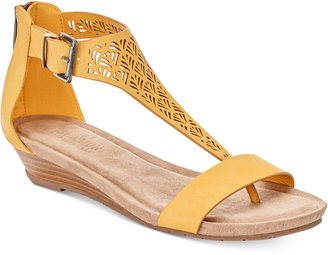 Kenneth Cole Reaction Great Gal Wedge Sandals Women's Shoes $59 thestylecure.com