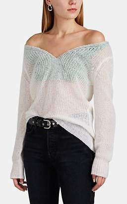 Y/Project Women's Layered Open-Knit Sweater - White