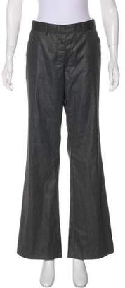 Magaschoni Mid-Rise Flared Pants w/ Tags