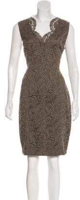 Burberry Lace Knee-Length Dress