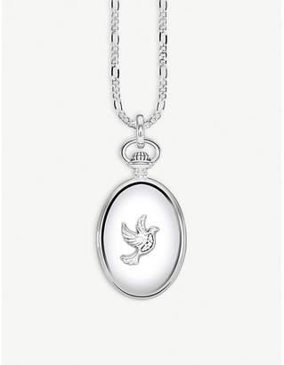 Thomas Sabo Dove sterling silver locket necklace