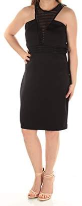 GUESS Women's Cocktail Dress with Textural Embellishment