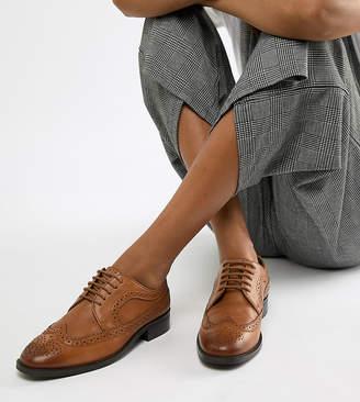 Asos Design DESIGN Mai Tai leather brogues
