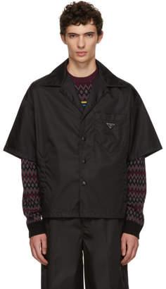 Prada Black Logo Shirt