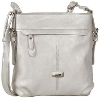 Gabor Silver 'Lisa' Womens Messenger Handbag