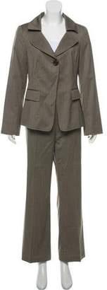 Lafayette 148 Wool Notch-Lapel Suit Set